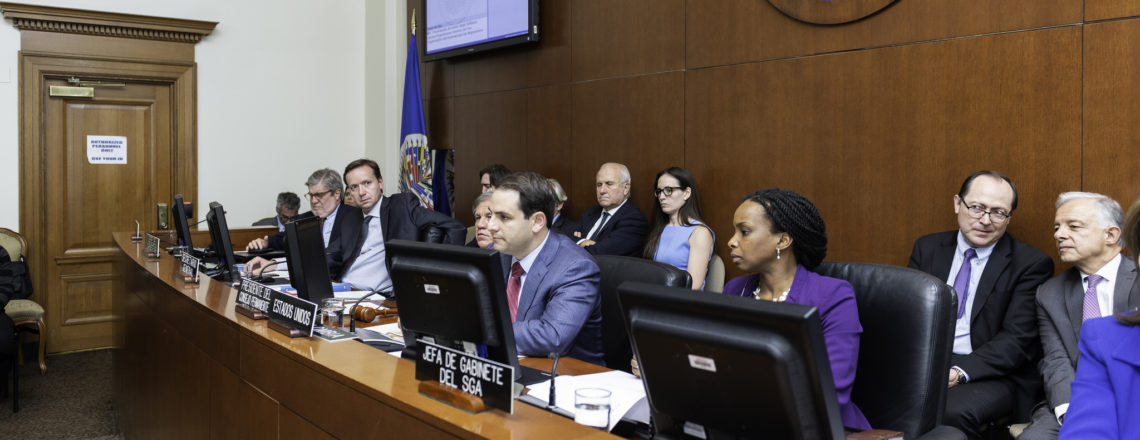OAS Convenes Special Session to Address the Humanitarian Situation in Venezuela