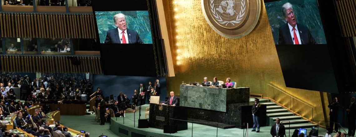 President Trump Addresses the 73rd United Nations General Assembly